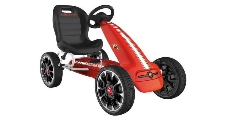 Kart cu pedale ABARTH Red poza kivi.ro