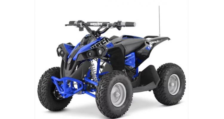 Hecht 51060 ATV electric cu acumulator 36 V-albastru poza kivi.ro