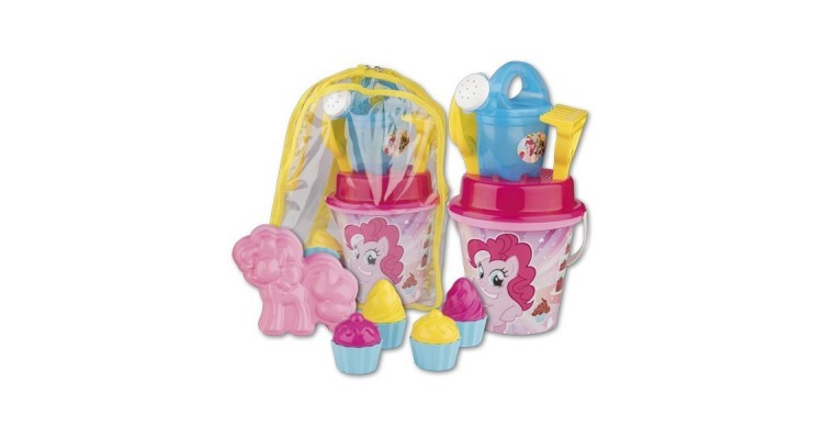 Set jucarii de nisip in rucsac My Little Pony - Androni Giocattoli imagine 2021 kivi.ro