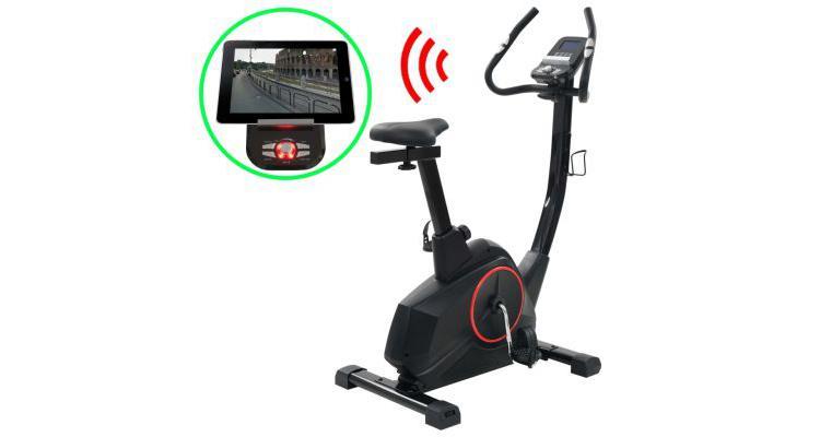 Bicicleta de fitness magnetica cu masurare puls, programabila