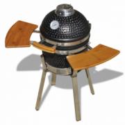 Kamado Gratar cu afumatoare din ceramica 76 cm