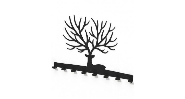 Cuier metalic CERB COPAC- model 3012 Negru poza kivi.ro