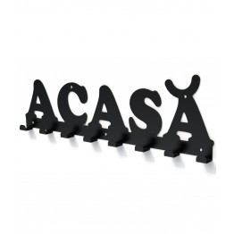 Cuier metalic ACASA- model 2999 Negru