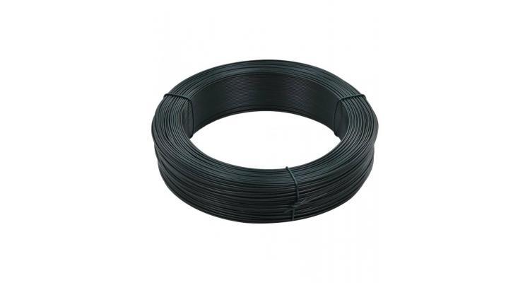 Fir tensionare pentru gard 250 m 2,3/3,8 mm verde inchis, otel imagine 2021 kivi.ro