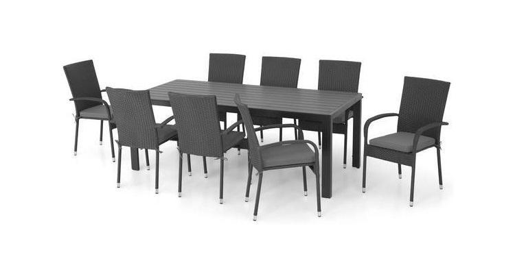PRESLEY Set masa si 8 scaune imagine 2021 kivi.ro