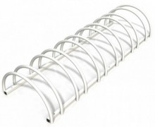 Rastel suport stradal bicicleta cu 6 sloturi -model 0022-6 Alb