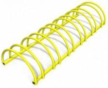 Rastel suport biciclete cu 6 sloturi -model 0022-6 Galben