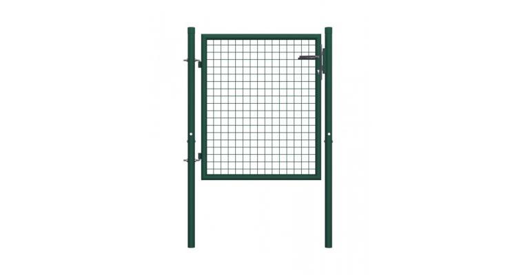 Poarta de gard, verde, 100 x 125 cm, otel imagine 2021 kivi.ro