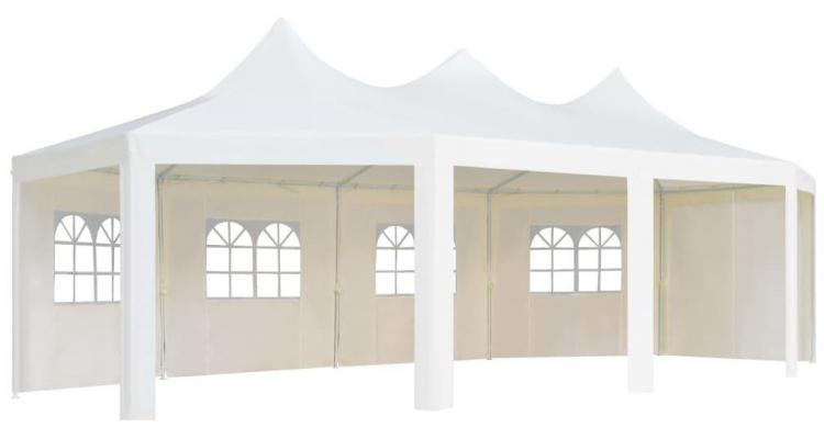 Pavilion, alb, 834 x 448 x 320 cm