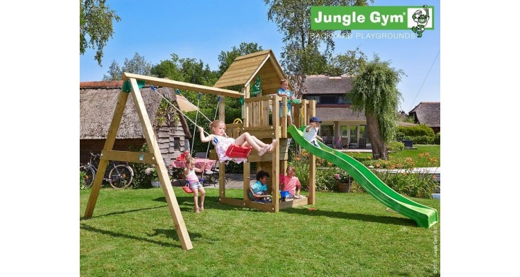 Jungle Gym Cubby Swing