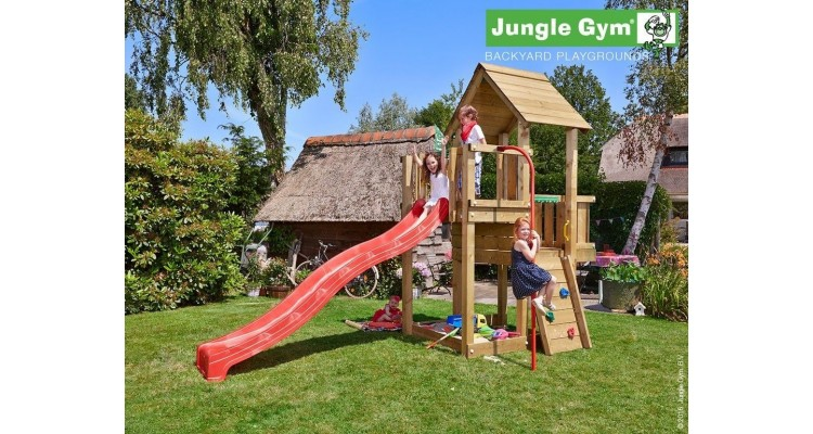 Foto Jungle Gym Cubby Bara Pompier