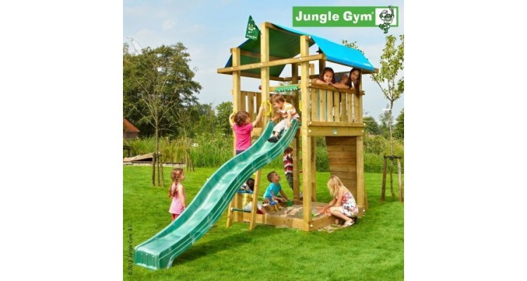 Spatiu de joaca Fort - Jungle Gym imagine 2021 kivi.ro