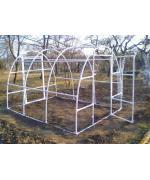 Solar gradina cu schelet din PVC 3 x 2.2 m