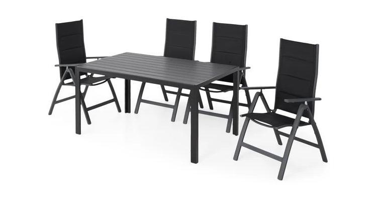 Set 4 scaune si masa Easy poza kivi.ro