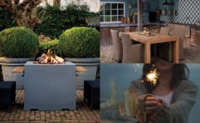 2 in 1 Masa si Semineu terasa Lounge&Dining, Happy Cocooning
