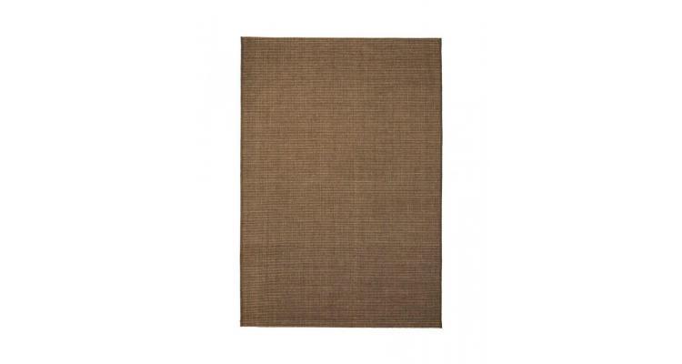 Covor aspect sisal de interior/exterior, 80 x 150 cm, maro poza kivi.ro