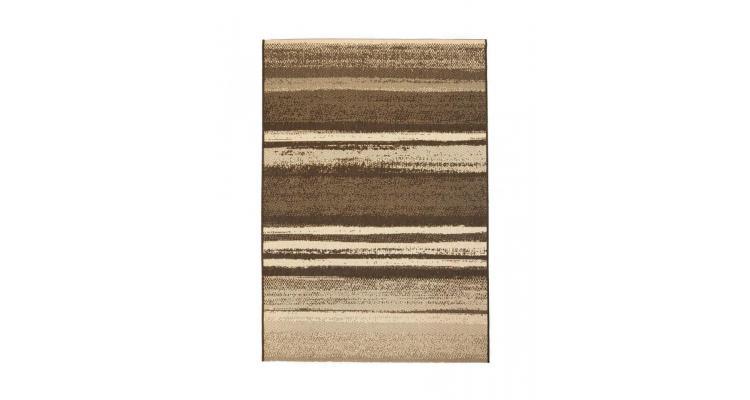 Covor aspect sisal de interior/exterior, 140 x 200 cm, dungi poza kivi.ro