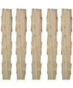 Spalier din lemn extensibil 180 x 90 cm 5 buc