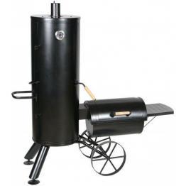 Gratar pe carbuni cu afumatoare American BBQ Springfield