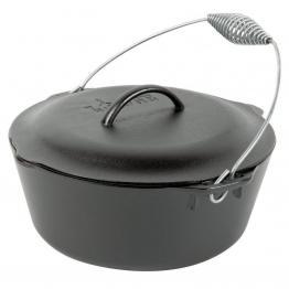 Ceaun din fonta cu capac - cuptor olandez Lodge 30 cm 6,7 litri