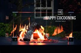 Masa Happy Cocooning dreptunghiulara neagra