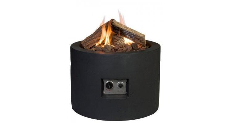 Masa Happy Cocooning rotunda neagra imagine 2021 kivi.ro