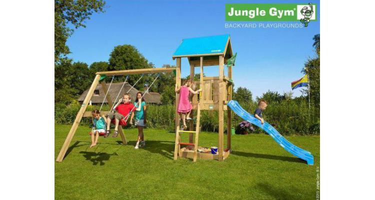 Jungle Gym Castle-Swing poza kivi.ro