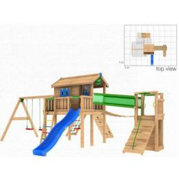 Complex de joaca JUNGLE GYM COMBO