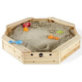 Cutie De Nisip Hexagonala Din Lemn Treasure Beach 116x116 Plum
