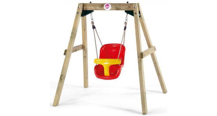 Leagan bebelusi din lemn Baby Swing Plum imagine 2021 kivi.ro