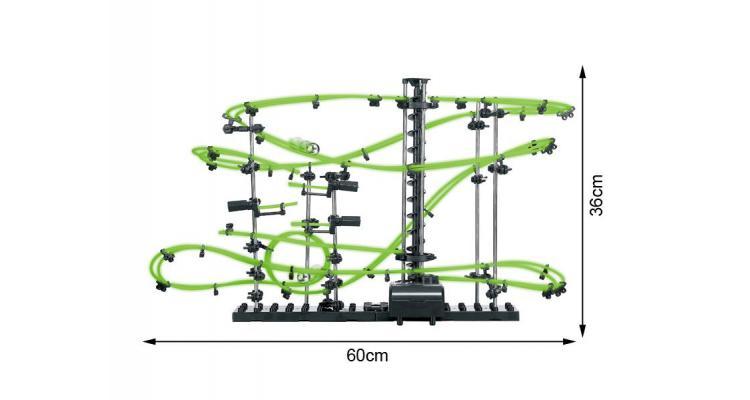 Space Roller Coaster Alibibi cu Bile fosforescente imagine 2021 kivi.ro