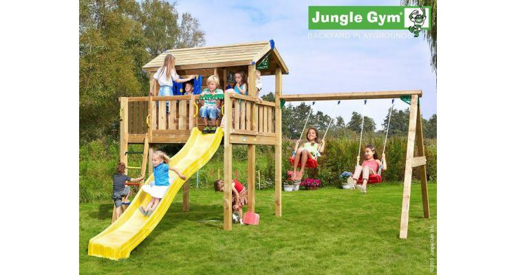 JUNGLE GYM PLAYHOUSE-PLATFORMA XL-SWING imagine 2021 kivi.ro