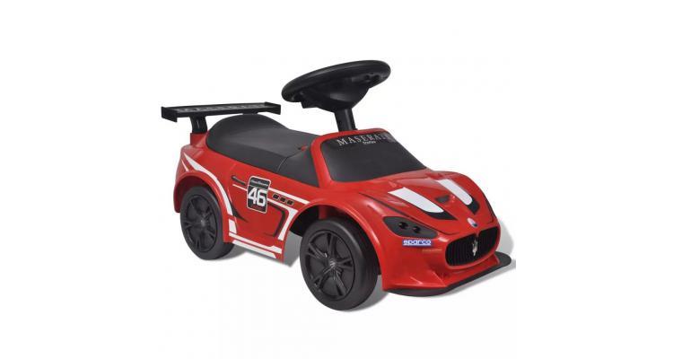 Mașină ride-on pentru copii maserati gran cabrio, roșu imagine 2021 kivi.ro