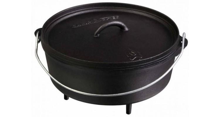 Ceaun din fonta cu capac - cuptor olandez Camp Chef 25,4 cm 3,8 litri CC-SDO10 imagine 2021 kivi.ro