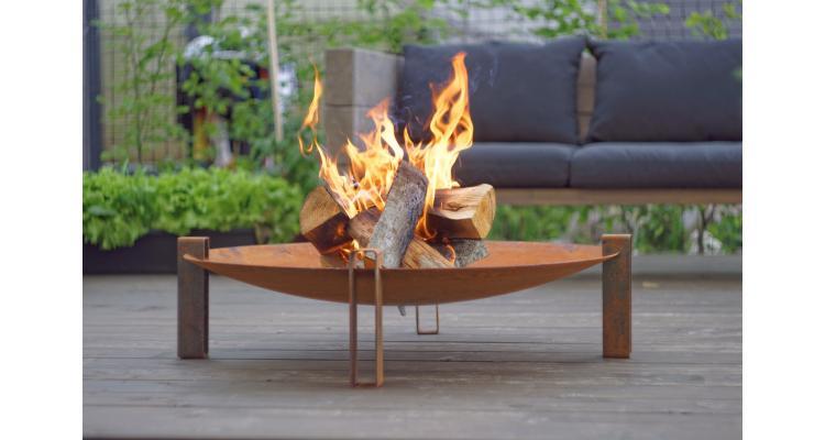Fire Pit Alna, D80 cm