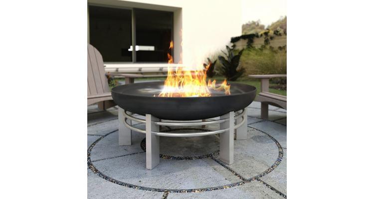Fire Pit Jura, D79 cm poza kivi.ro