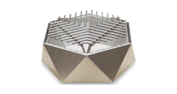 Mini Grill Top Table Inox. D37 cm poza kivi.ro