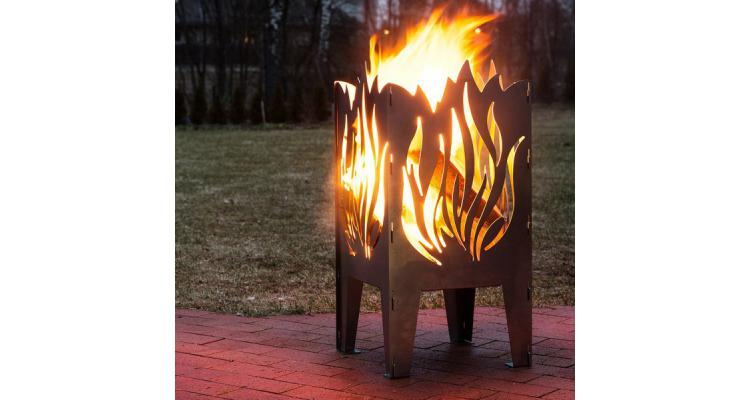 Fire Basket Flacara poza kivi.ro