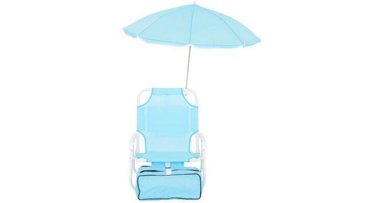 Scaun copii cu parasolar si geanta frigorifica KIDS BEACH