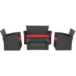 Set mobilier LIMA cu 2 fotolii, canapea si masuta