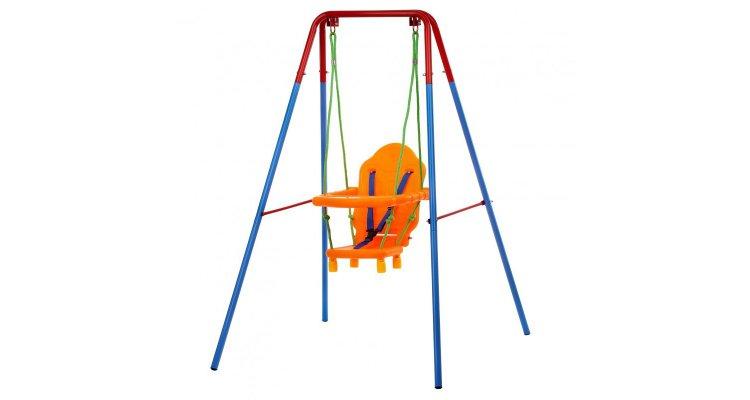 Leagan cu cadru metalic pentru bebelusi si copii imagine 2021 kivi.ro