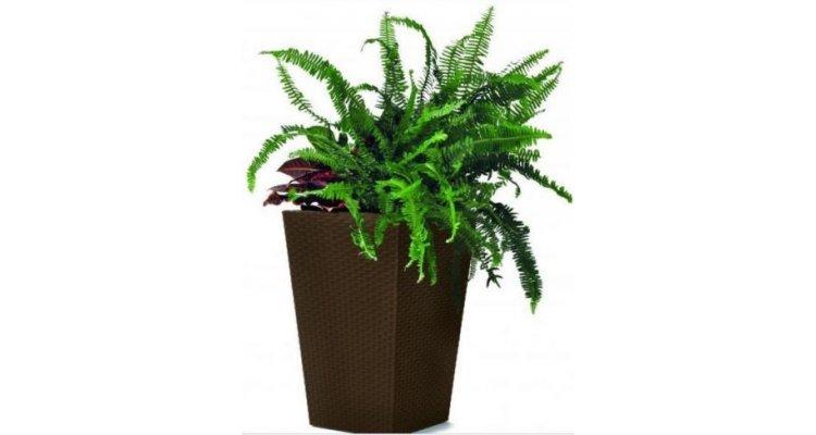 Ghiveci Rattan Planter Medium 55,4L