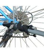 Remorca de bicicleta PAWHUT pentru transportat animale,gri