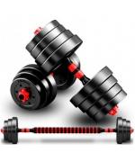 Set gantere reglabile BodyFit 40 kg