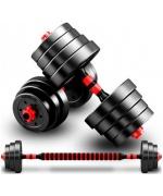 Set gantere reglabile BodyFit 30 kg