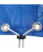 Prelata pentru piscina rotunda din PE 90 g/mp 385 cm