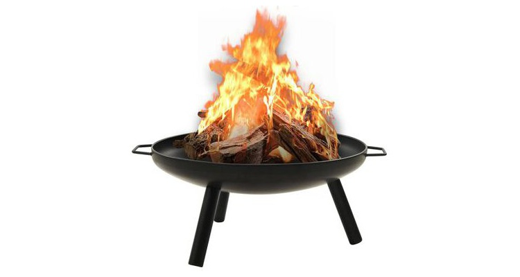 Vatra de foc, 70x59x28 cm, otel