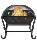 Vatra de foc cu vatrai XXL, 62 cm