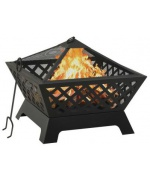 Vatra de foc cu vatrai XXL, 64 cm