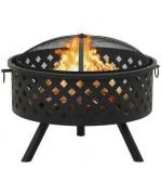 Vatra de foc cu vatrai XXL,68 cm